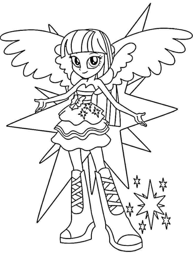 my little pony christmas coloring coloring pages for kids
