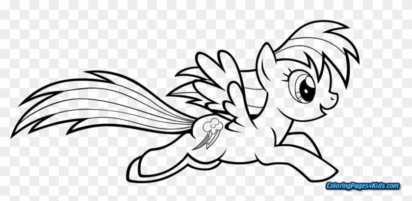 my little pony coloring pages applejack and rainbow