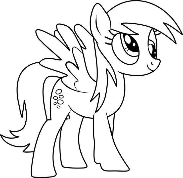 my little pony coloring pages derpy coloring derpy pages
