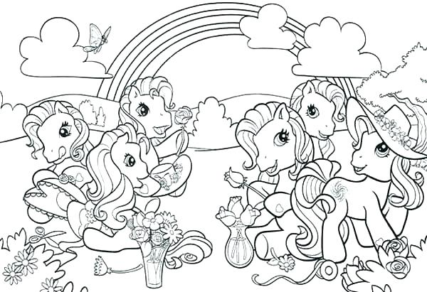 my little pony coloring pages games at getdrawings