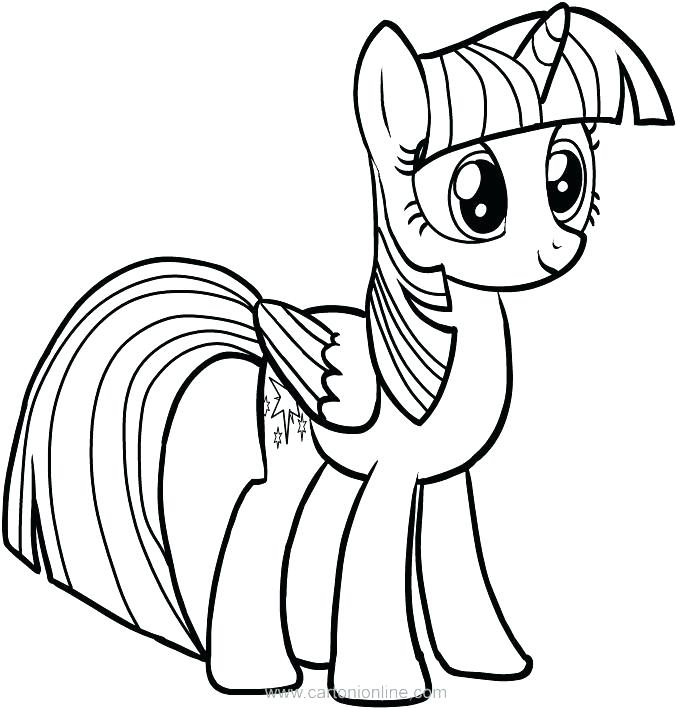 my little pony coloring pages twilight