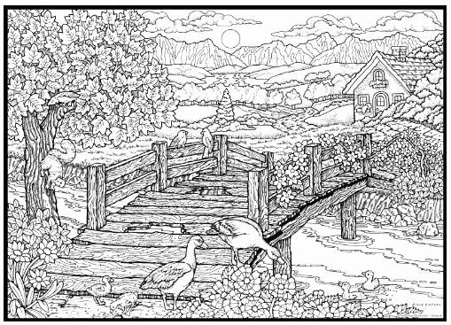 nature coloring books for adults luxury nature coloring