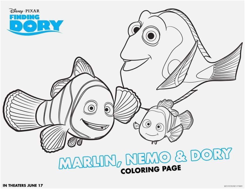 nemo coloring pages view exquisite finding nemo coloring
