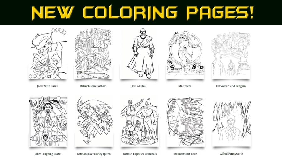 new batman coloring pages batmo
