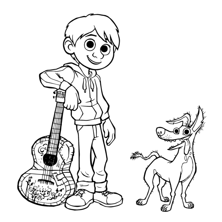 new coloring pages coco free disney printable pagess