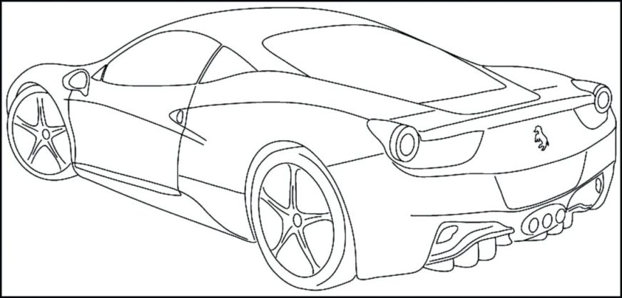 new coloring pages color cars for toddlers tulip ker