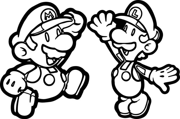 new coloring pages super mario brothers bros book pagess