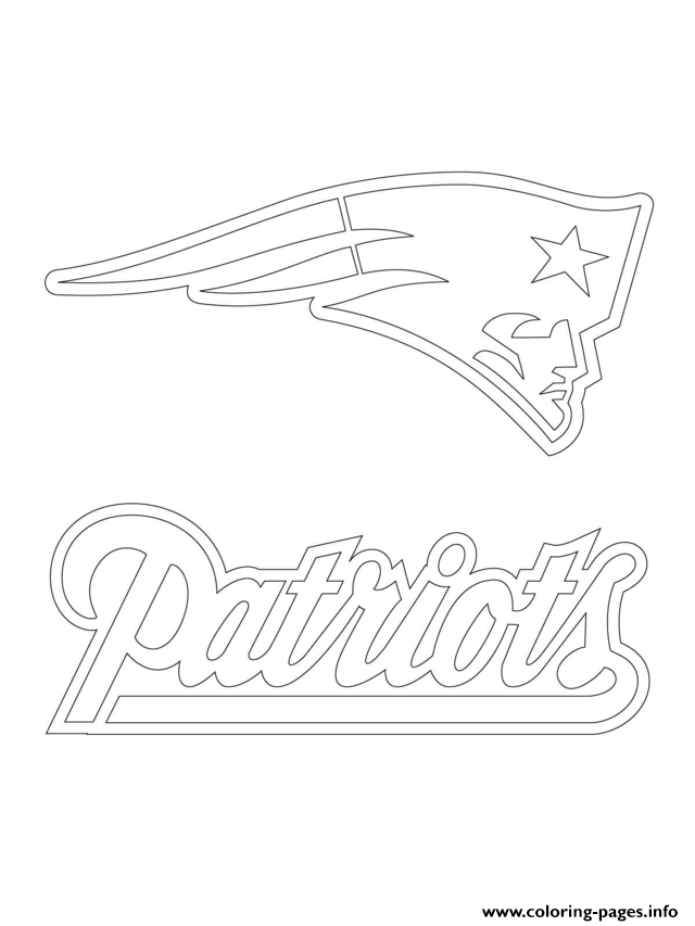 new england patriots printable coloring pages
