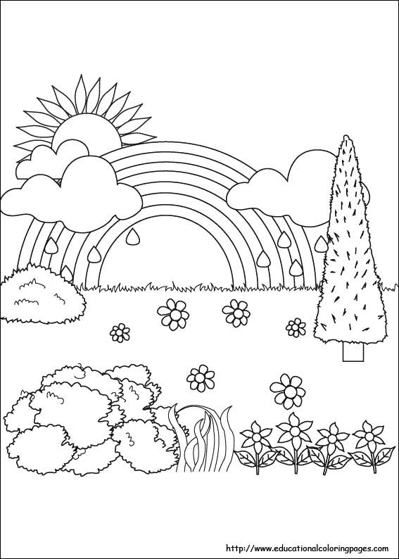 new nature coloring pages colorings design ideas new nature