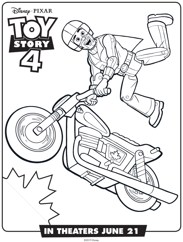 new toy story 4 free coloring sheets april golightly
