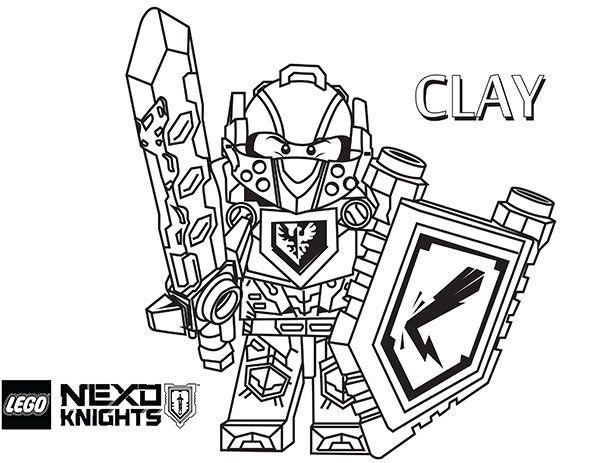 nexo knight printable coloring sheets superhelden