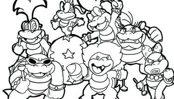 Mario Bros Coloring Pages Ideas Whitesbelfast