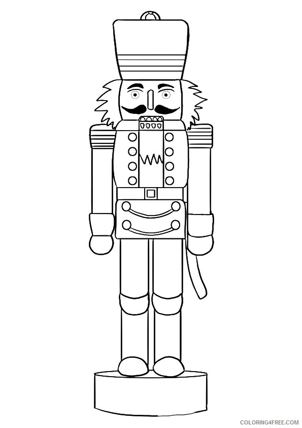 nutcracker coloring pages to print coloring4free