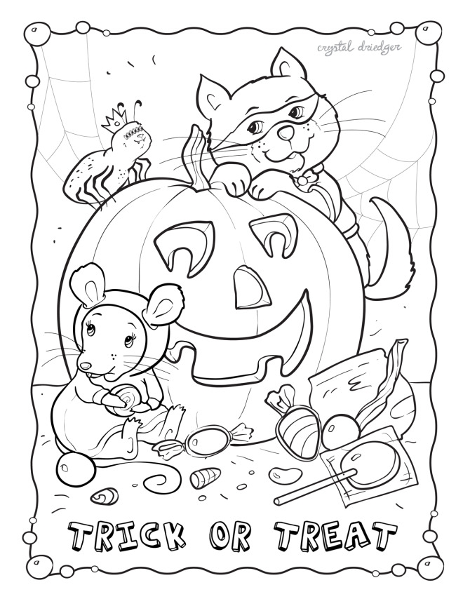 october coloring pages to print printable fun for kids