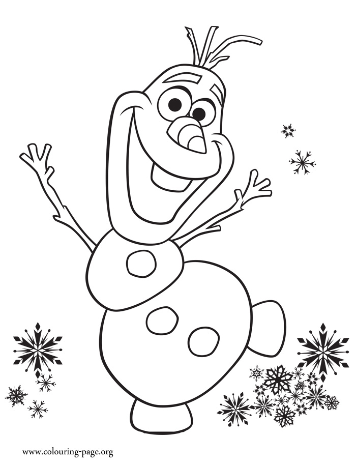 olaf coloring pages the sun flower pages