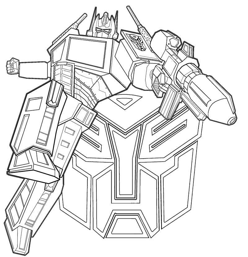 optimus prime transformers clip art library