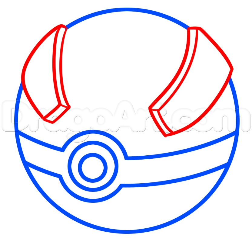outline of pokeball coloring pages great balls collection