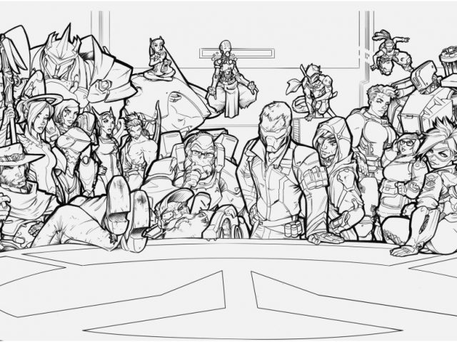 overwatch coloring pages photo overwatch coloring pages 14f