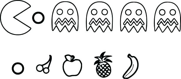 pacman coloring pages wozdengiclub