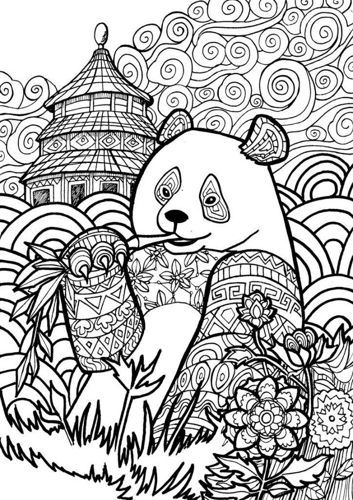 panda coloring pages m ausmalbilder panda kostenlose