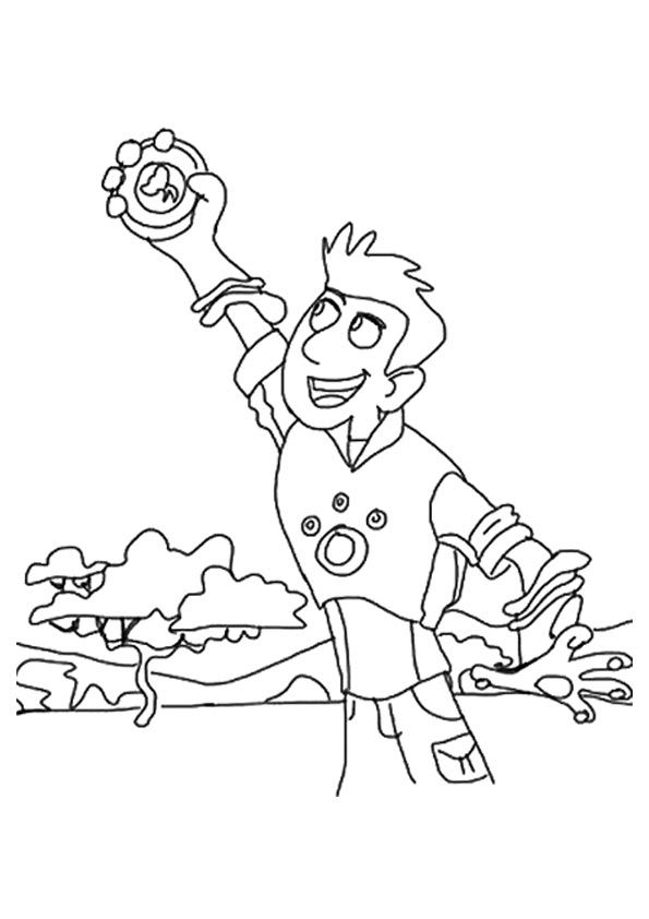 parentune free printable christ kratts coloring picture