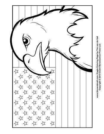 patriotic coloring page tims printables