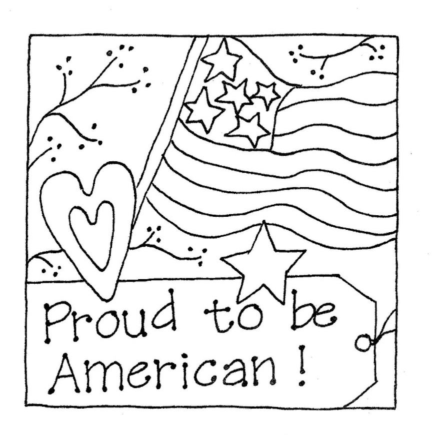 patriotic coloring pages for patriots of all ages