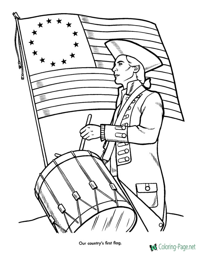 patriotic coloring pages