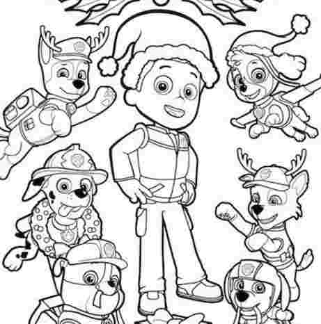 paw patrol ryder and chase coloring pages paw patrolpaw