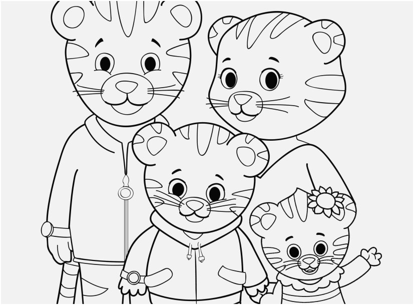 pbs coloring pages photographs coloring daniel tiger s