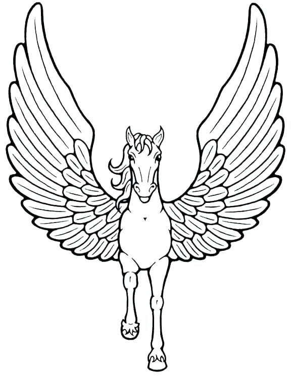 pegasus coloring pages coloring pages coloring pages for
