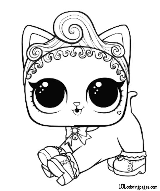 pet royal kitty cat coloring page cat coloring page