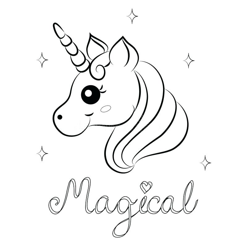 pictures to print and colour unicorns pusat hobi