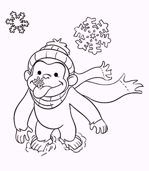 pin paige sickles on coloring pages curious george