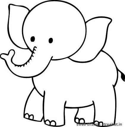 pin tri putri on cute ba elephant coloring pages