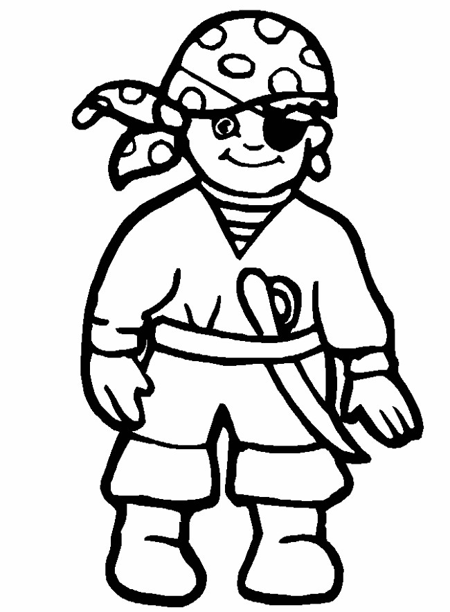 pirate characters printable coloring pages