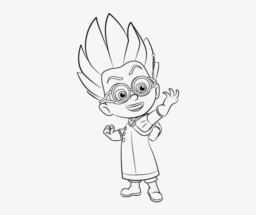 pj masks coloring pages gekko pj masks coloring pages png