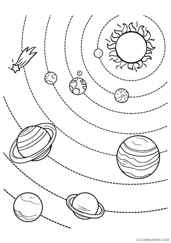 planet coloring pages solar system coloring4free