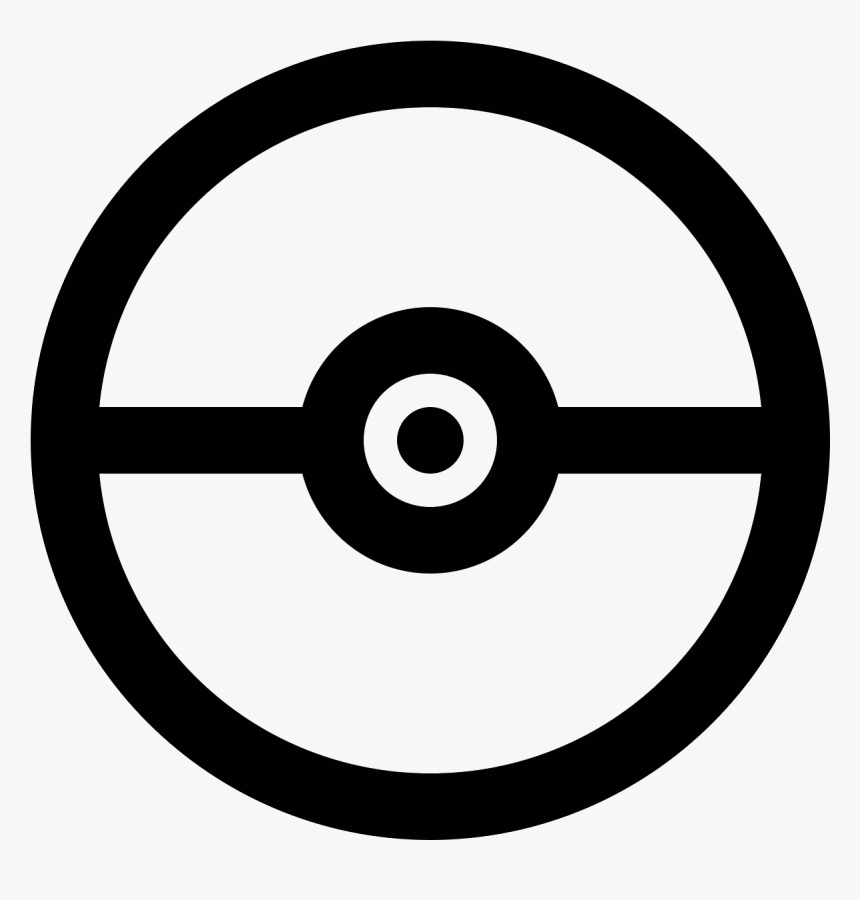 pokeball icon png pokemon ball coloring page transparent