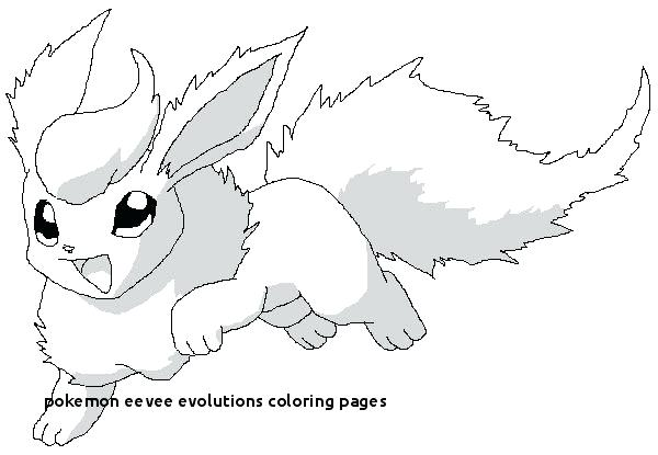 pokemon coloring pages eevee noticiasdemexico