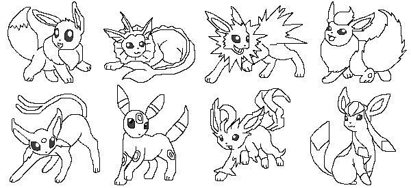 pokemon eevee coloring pages beautiful coloring pokemon