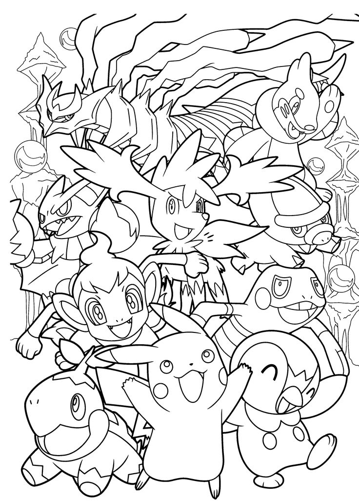 pokemon pikachu return to childhood adult coloring pages
