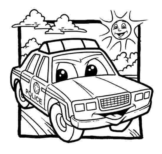 police car coloring pages printable police car coloring page