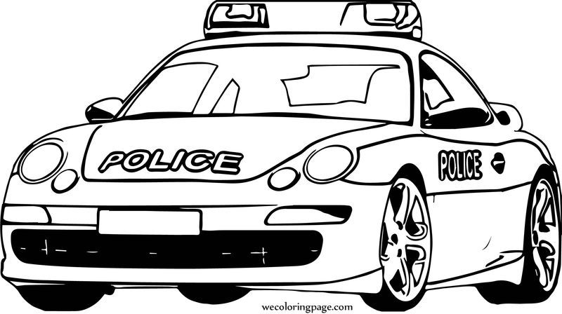 porsche police car coloring page also see the category to