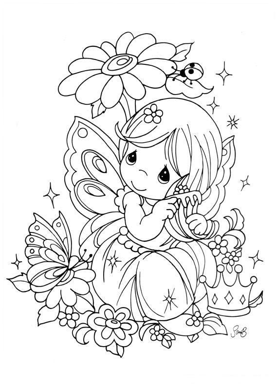 precious moments precious moments coloring pages fairy