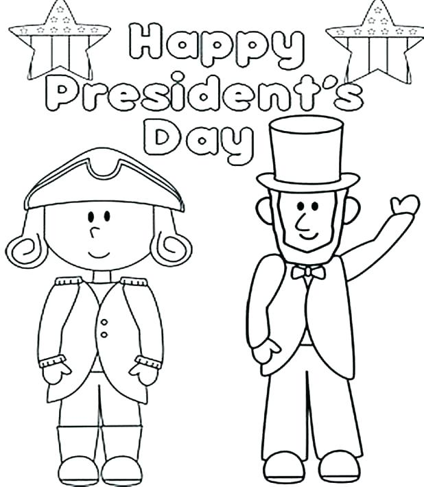 president day coloring pages to print at getdrawings