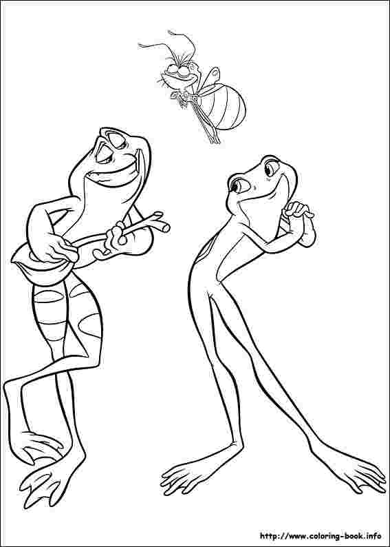 princess and the frog printable coloring pages huangfei