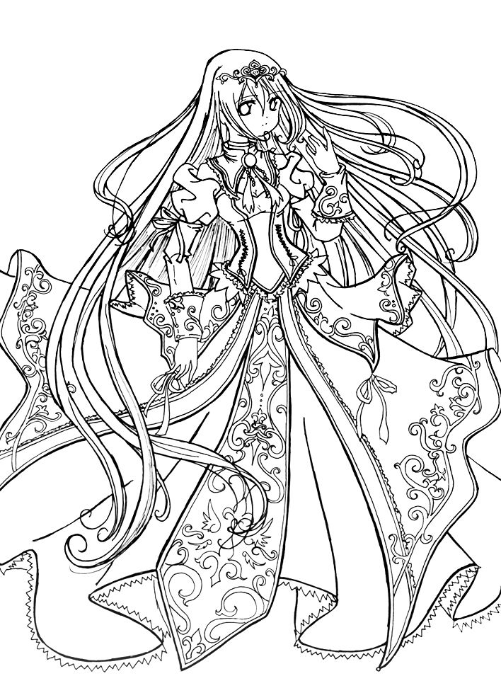 princess coloring pages detailed coloring pages princess