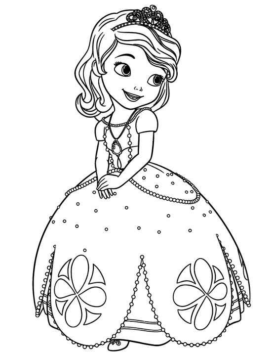 princess sofiadisney disney princess coloring pages