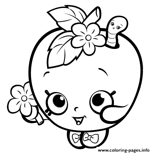 print cute shopkins for girls coloring pages shopkin